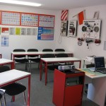 Theorieraum Fahrschule Eichert in Ellenberg